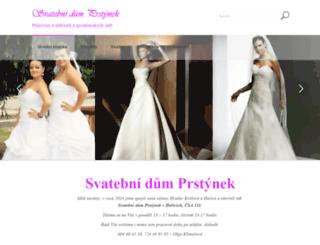 svatebni-saty-hk.cz screenshot