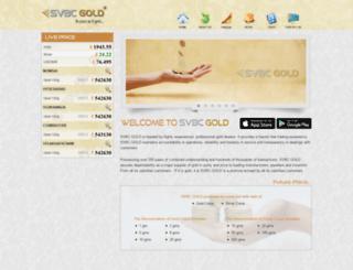 svbcgold.com screenshot