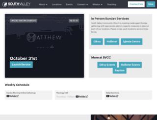 svccchurch.com screenshot