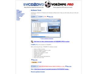 svcd2dvd.com screenshot