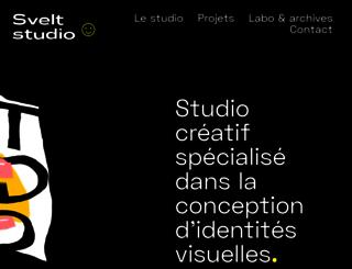 sveltstudio.com screenshot