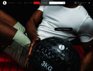 sveltus.fr screenshot