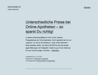 sven-bublitz.de screenshot