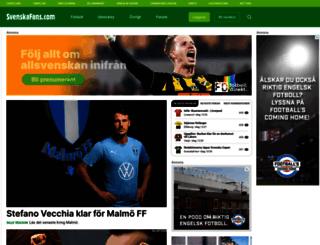 svenskafans.se screenshot