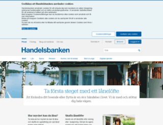 svenskahandelsbanken.se screenshot