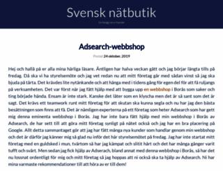 svensknatbutik.se screenshot