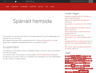 svensktdackcertifikat.se screenshot