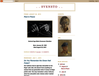 svensto.blogspot.com screenshot
