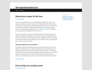 sverigesbastabord.se screenshot