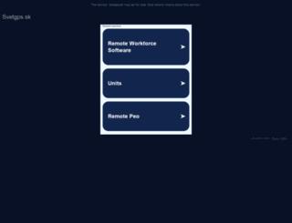 svetgps.sk screenshot