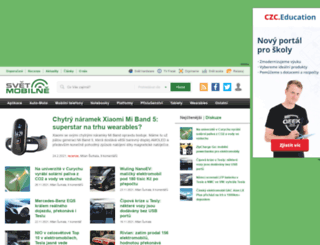 svetmobilne.cz screenshot