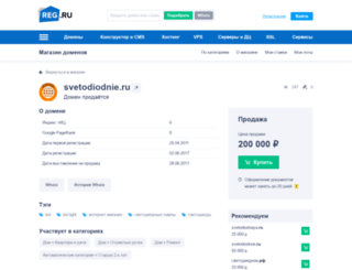 svetodiodnie.ru screenshot