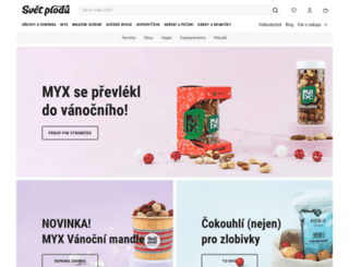 svetplodu.cz screenshot