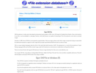 svg.extensionfile.net screenshot