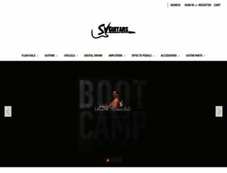 svguitars.com screenshot