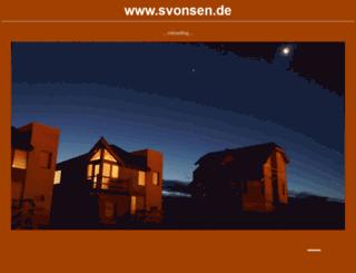svonsen.de screenshot