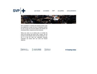 svp.nl screenshot