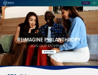 svpseattle.org screenshot