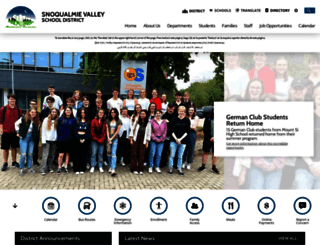 svsd.schoolwires.net screenshot
