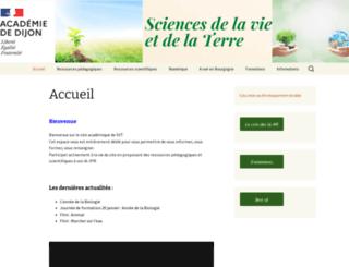 svt.ac-dijon.fr screenshot