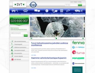 svt.fi screenshot