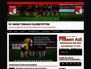 svtondachgleinstaetten.com screenshot