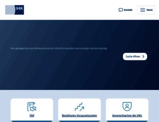svv.ihk.de screenshot