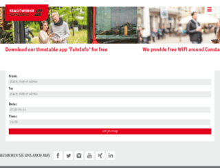 sw.konstanz.de screenshot