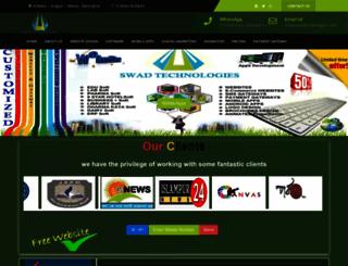 swadtechnologies.com screenshot