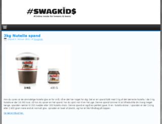 swagkids.dk screenshot