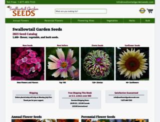 swallowtailgardenseeds.com screenshot