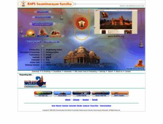 swaminarayan.com screenshot