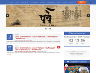 swaminarayan.in screenshot