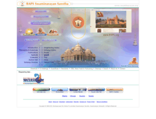swaminarayan.org screenshot