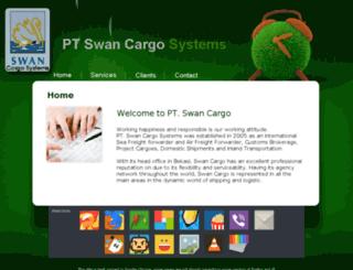 swancargo.co.id screenshot