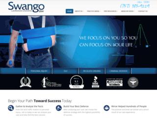 swangolaw.com screenshot