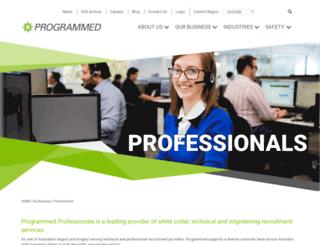 swanpersonnel.com.au screenshot