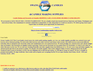 swanscandles.com screenshot