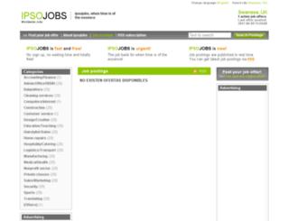 swansea.ipsojobs.com screenshot