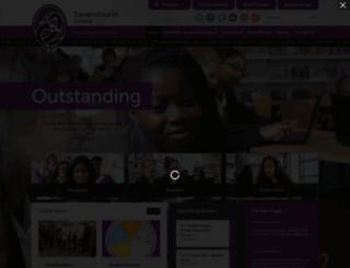 swanshurst.org screenshot