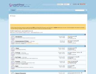 swapitforum.co.uk screenshot