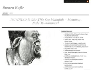 swarakafir.wordpress.com screenshot