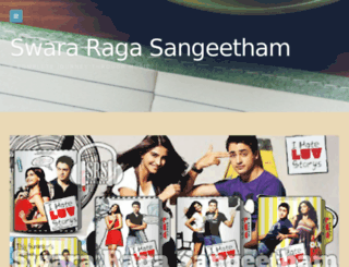 swararagasangeetham.wordpress.com screenshot