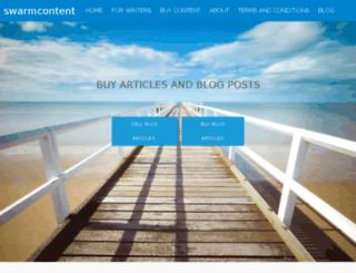 swarmcontent.com screenshot