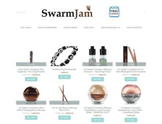 swarmjam.com screenshot