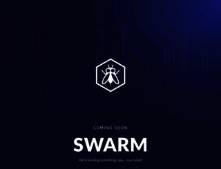 swarmx.com screenshot