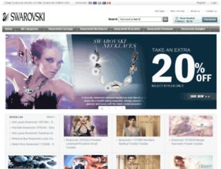 swarovskionlineoutlets.com screenshot