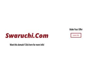 swaruchi.com screenshot