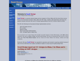 swatidesign.com screenshot