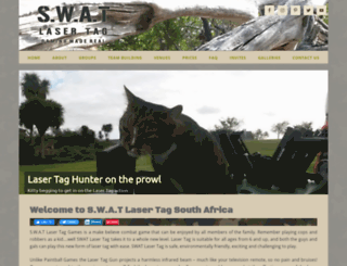 swatlasertag.co.za screenshot